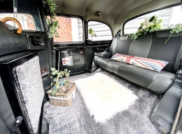 Black Taxi for weddings in Manchester